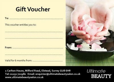 Ultimate Beauty Gift Voucher